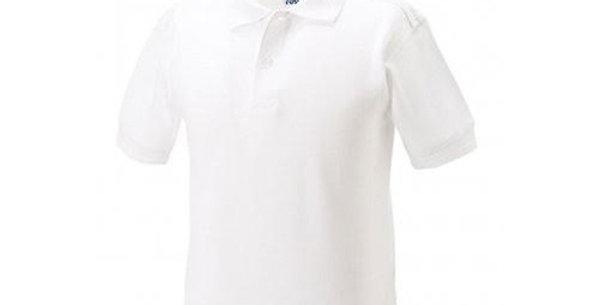 Plain White Polo WL599B