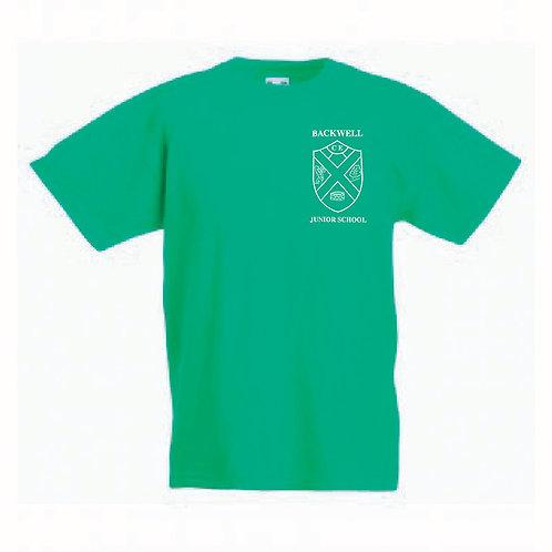 Fruit of the Loom T-Shirt Green (Beech) (BJS)