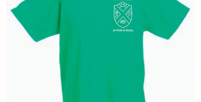 Fruit of the Loom T-Shirt Green (Beech) (BJS)