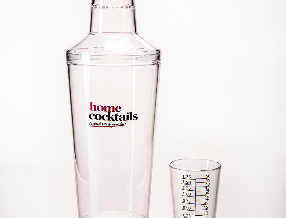 Cocktail Shaker with measure