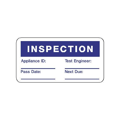 Inspection Labels
