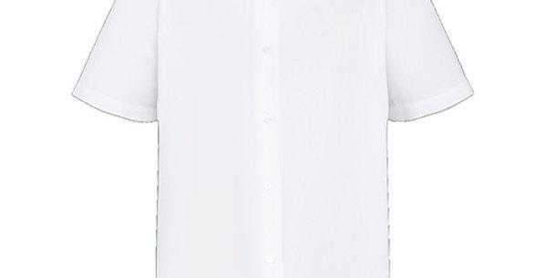 Girls White Blouse Short (FFD61)