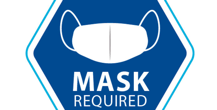30cm Hex Mask Required Sticker