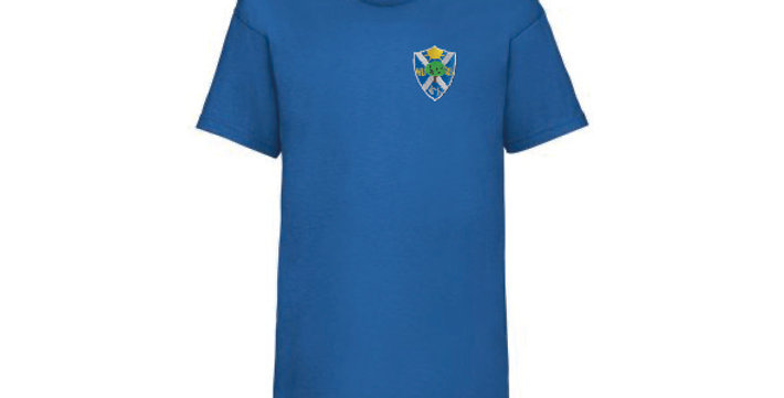 Fruit of the Loom T-Shirt Blue (Oak) (BF)