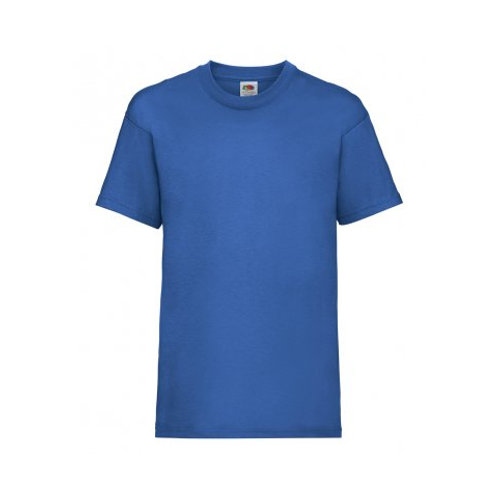 SS6B – Fruit of the Loom Kids Value T-Shirt (Blue)