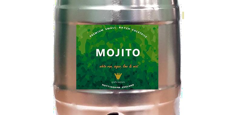 MOJITO 5L PARTY KEG