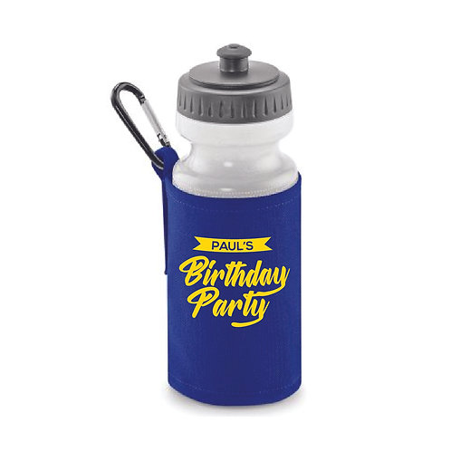 Birthday Water Bottle
