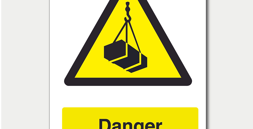 Danger Overhead Load