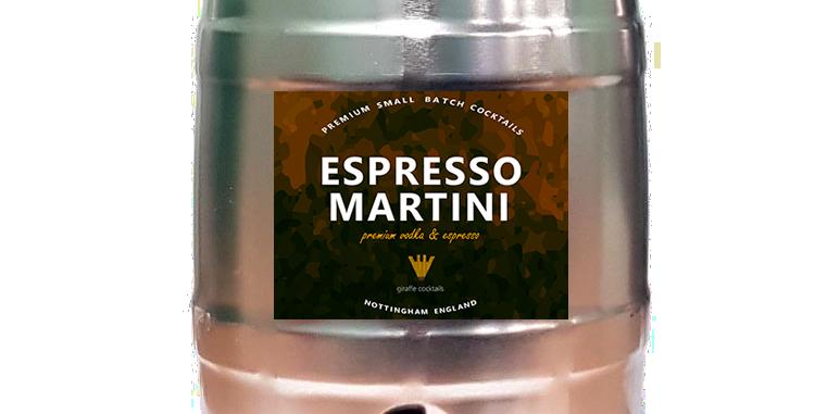 ESPRESSO MARTINI 5L PARTY KEG