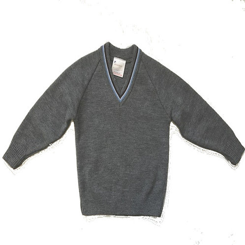 Grey/sky Blue Jumper (FFGJ)