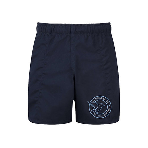 Navy Boys Sports Shorts