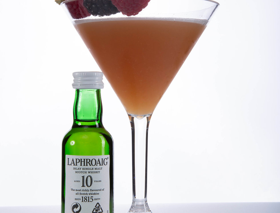Smoky French Martini