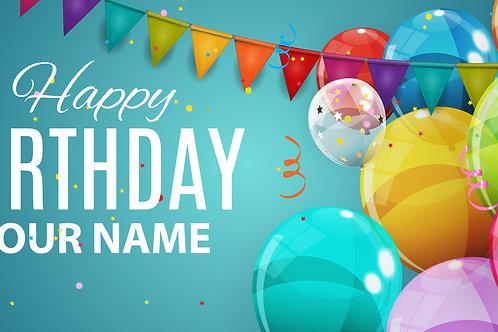 Happy Birthday Banner 1