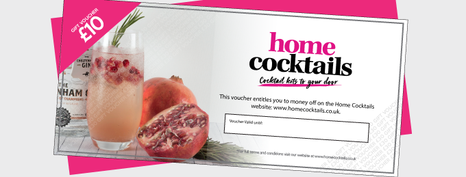 Home Cocktails Gift Voucher