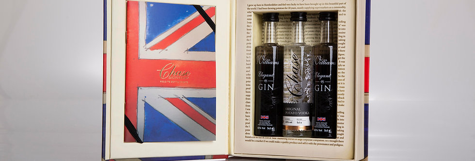 Chase Gin Collection Book