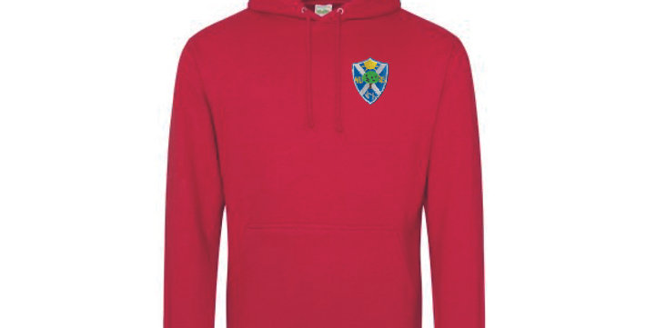 Hoodie Red (Willow) (BF)