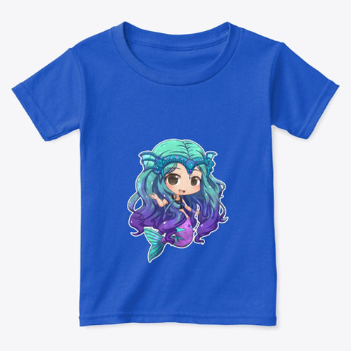 Toddler Mermaid Kelly Chibi Art Tee