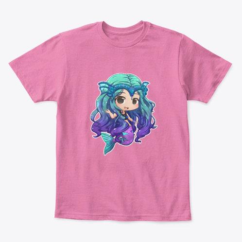 Kids Mermaid Kelly Chibi Art Tee