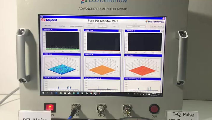 To show Howmuch Noise / Interference T-Q Pulse Technology kills
