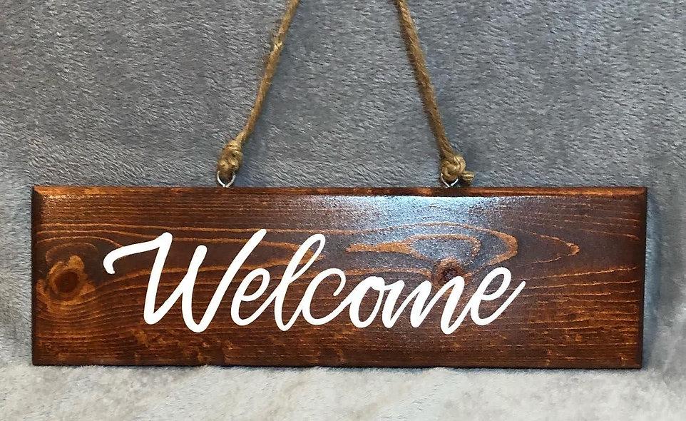 Smidgen Welcome Sign