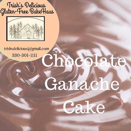 Trish's Delicious Chocolate Ganache Cake