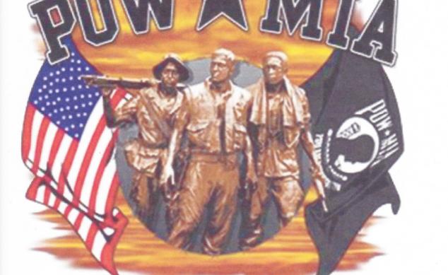 DAV POW-MIA Color T-Shirt