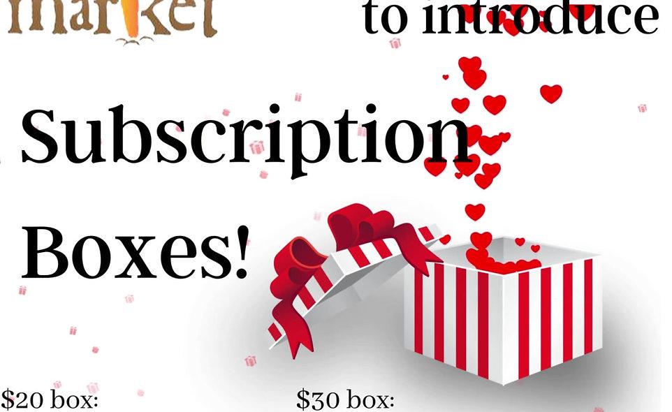 $30 Subscription Box