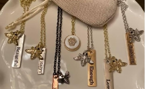 Clayton Street Necklace with Choice of Charm