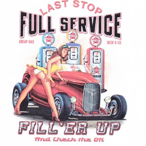 DAV Last Stop Full Service T-Shirt