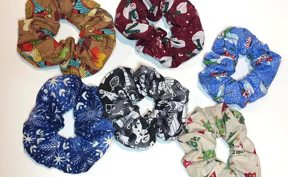 Smidgen Fabric Scrunchies