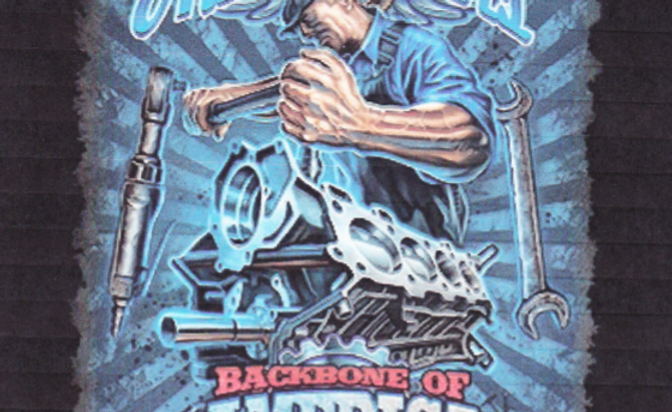 DAV Autoworkers Backbone of America T-Shirt