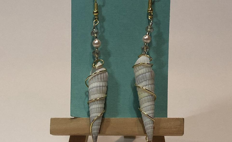 Smidgen Seashell Earrings
