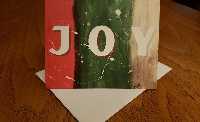BelieveDesignsEG 4 JOY Notecards/Envelopes