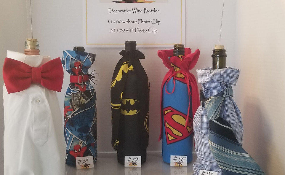 B-Stone Decorative Men's and Superhero Wine Bottles