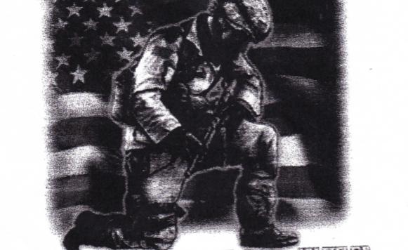 DAV Kneel for the Fallen T-Shirt