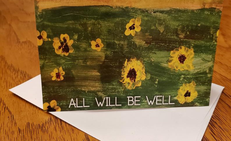 BelieveDesignsEG 4 Well Notecards/Envelopes