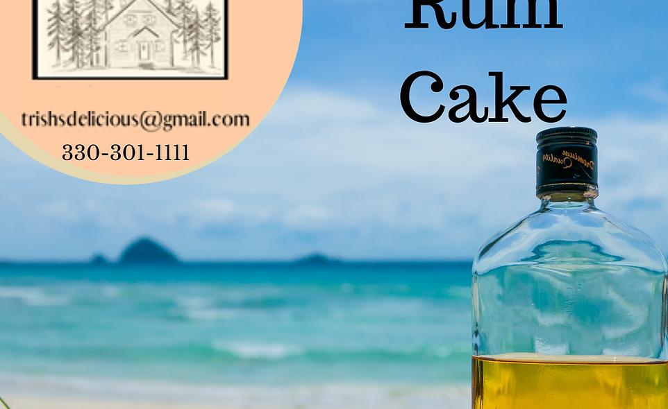 Trish's Delicious Caribbean Rum Cake