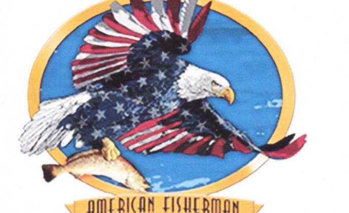 DAV T-shirt American Fisherman