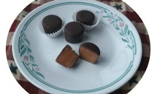 Buckeyes and More Chocolate Covered Caramels