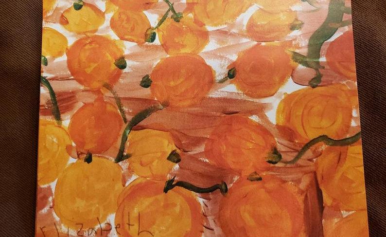 BelieveDesignsEG 6 Pumpkin Postcards/Envelopes