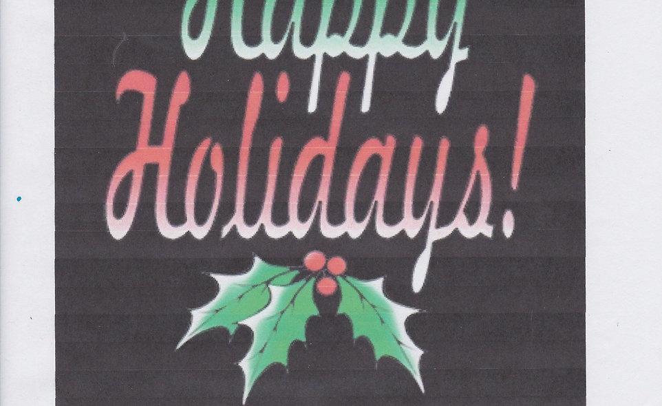 DAV Happy Holidays T-Shirt