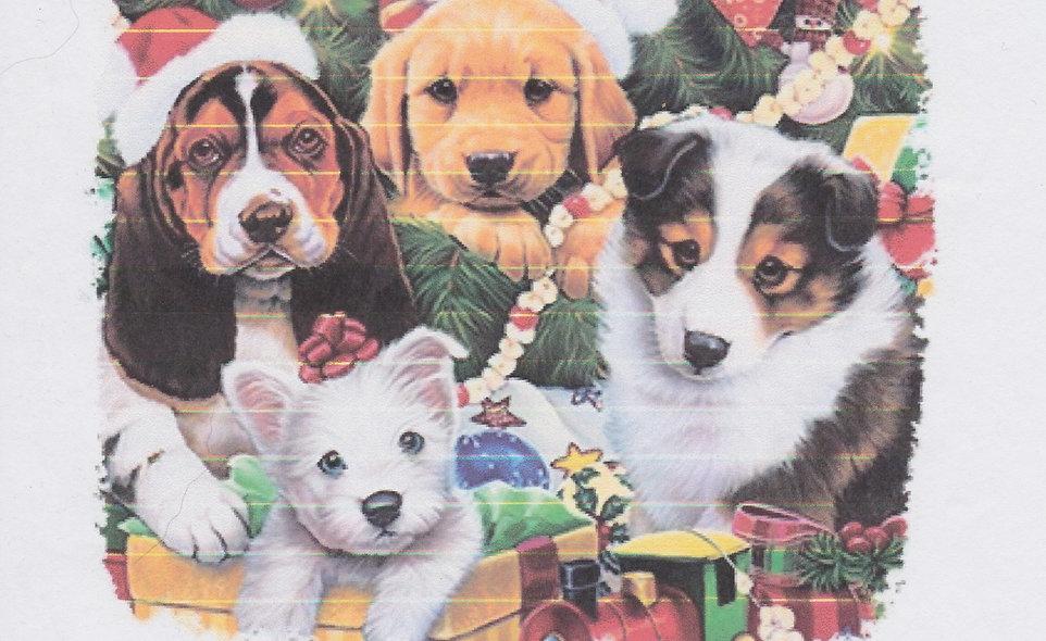 DAV Christmas Dogs T-shirt