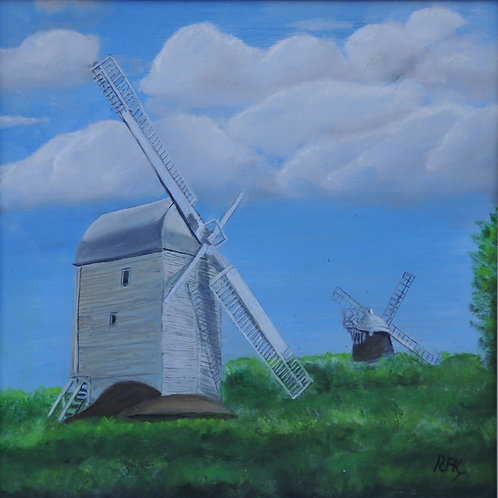 Jack and Jill Windmills, Hassocks