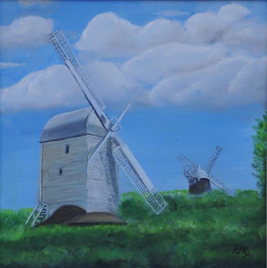Jack and Jill Windmills, Hassocks