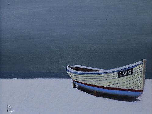 Boat on Scottish Beach