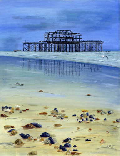 West Pier, Hove. Photo courtesy of Colin Thompson