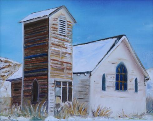 Abandoned Church, Canada