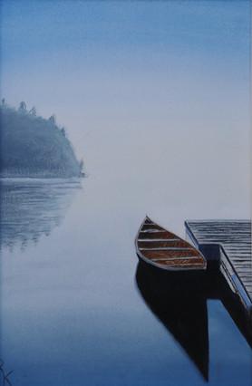Canoe, Lake Simcoe, Canada