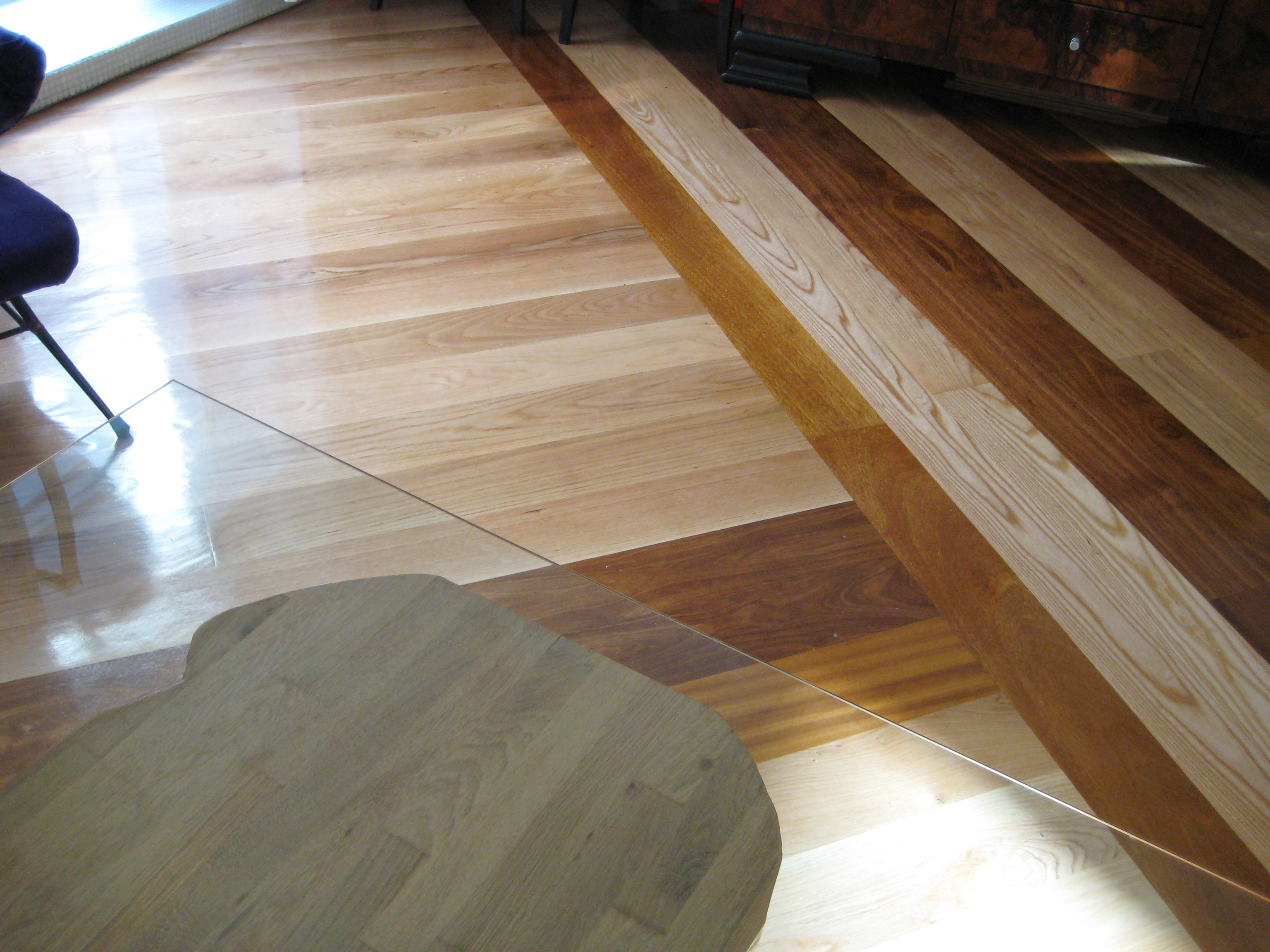 Wood floor detail