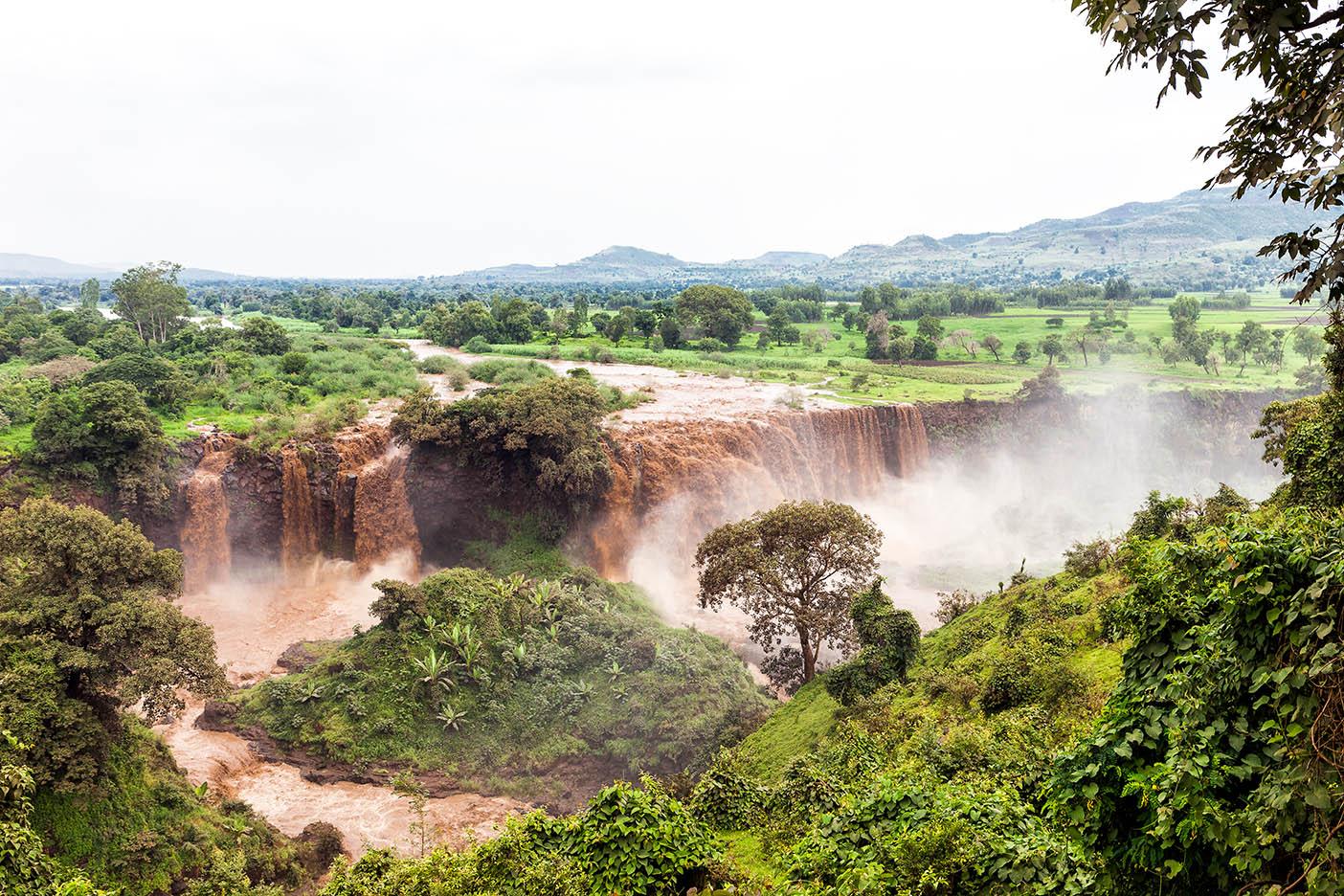מפלי טיסיסיאט - טיול פרטי באתיופיה